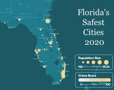 A list of Florida's safest cities by safewise.