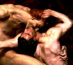 Dante and Virgil in Hell (detail) William Adolphe Bouguereau 1850