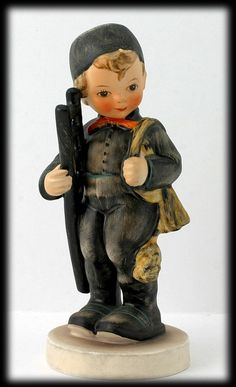 Hummell Chimney Sweep Boy Figurine 1950s Goebel Porcelain  i have this one
