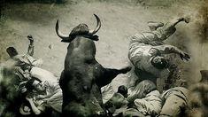 Imagen nunca vistas hasta ahora del encierro de Pamplona