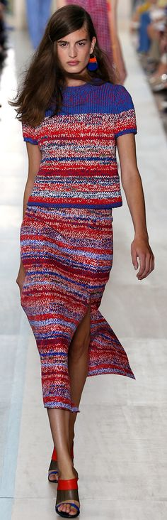 RUNWAY: Tory Burch Spring 2015 RTW Collection