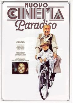 Cinema Paradiso. Love the actors, the story, the setting.