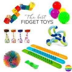 Ten of the Best Fidget Toys for School - why and how to use fidgets in your classroom along with the best shop bought and DIY fidgets to try Diy Fidget Toys, Diy Sensory Toys, Sensory Tools, Sensory Bins, Sensory Activities, Toddler Activities, Figet Toys, Diy Toys, Fidget Quilt