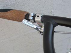VO Thumb Shifter Mounts and Dia-Compe ENE down tube shifters (Tektro FL750 brake levers)