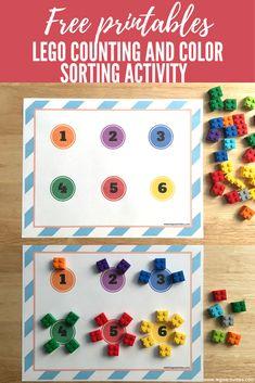 ¡Aprender con ladrillos LEGO es divertido! Esta semana realizamos una actividad de matemáticas un poquitomás compleja. La actividad consistió en contar y clasificar por colores ladrillos LEGO. A mis niños les encantó la actividad porque pudieron practicar algunas destrezas que …