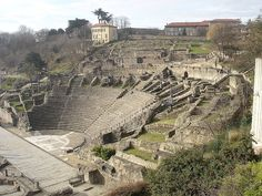 Amphitheater, Lyon France.  Was here in 1986.