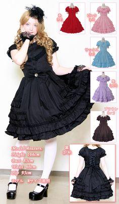 l087 - One Piece Dress - LOLITA