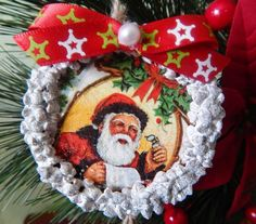 Set of Christmas wooden ornaments Christmas gift от Givemiracles