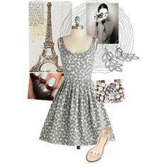 A Day in Paris, created by kaitryne on Polyvore