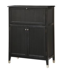 Main Street Black Martini Home Bar - IN STOCK- CLEARANCE by Pulaski - Home Gallery Stores