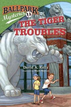 J SERIES BALLPARK MYSTERIES. When Mike and Kate visit Detroit, someone is blackmailing the Tigers' famous slugger, Tony Maloney.