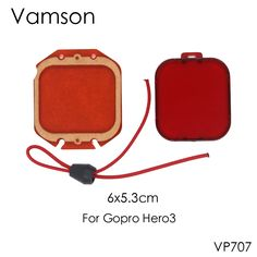 >> Click to Buy << Vamson 2 in 1 for Gopro Accessories Red Underwater Sea Water Diving UV Filter Lens Cover for GoPro Hero 3 Camera VP707 #Affiliate