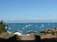 * Île de Noirmoutier, Vendée / France - Océan atlantique...