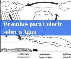 Desenhos para Colorir sobre a Água