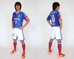 Yokohama F. Marinos (横浜F・マリノス) 2014 adidas Home (Shunsuke Nakamura)
