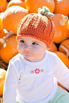 Ravelry: Pumpkin Harvest Hat pattern by Cathy Kurtz Crochet free pattern