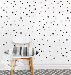 Star Wall Decal / Mini Size Star Pack / 3 by OhongsDesignStudio