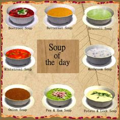 Soup Of The Day for The Sims 2 (TS2)