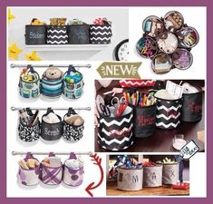 Thirty-One Gifts - So many ways to use these Oh Snap bins