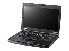 "Panasonic Toughbook 54 Prime 14"" Rugged Notebook, 4 GB RAM, 1 TB HDD, Black/Silver (CF-54AX001CM). Semi-rugged notebook. Display 14"" HD Display. Long-life battery. 3x USB 3.0 ports, Gigabit Ethernet, HDMI. Bluetooth 4.0."