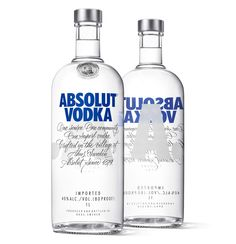 Absolut Vodka has unveiled a new bottle design which incorporates a new two-line logo, new script and redesigned medallion into a new lighter bottle. Overseen by Brand Union.