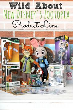 Wild About New Disney's Zootopia Product Line - Check out some of the most amazing new Disney products from the new movie Zootopia, in theaters March 4th! - abccreativelearning.com