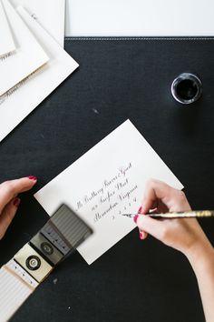 How to write straight Calligraphy – Laura Hooper Calligraphy