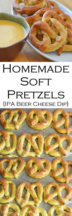 Homemade Soft Pretzels w. IPA Beer Cheese Dip