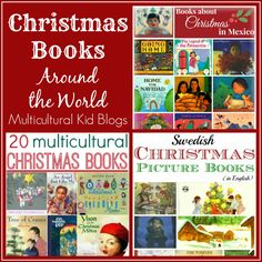 Christmas Books Around the World - Kid World Citizen on Multicultural Kid Blogs