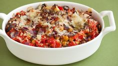 Go meatless! This is an easy, delicious recipe the whole family will love. Menu Sans Gluten, Gluten Free Menu, Gluten Free Dinner, Summer Recipes, Fall Recipes, Dinner Recipes, Eggplant Casserole Recipe, Epicure Recipes, Healthy Recipes