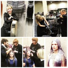 Aveda congress USA #aveda #avedastyling #avedacolor #avedamakeup  Styling: Bea Watson Makeup: Janelle Geason  Haircolor by me: Jo Mckay @ joelouisemckay