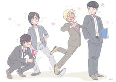 Image result for furuya rei and conan fanart