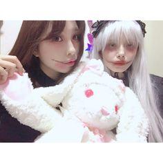 . まさかのハロウィンメイクをする事になり2017のハロウィンも... #Team8 #AKB48 #Instagram #InstaUpdate