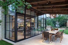 Love it, but roll up door between patio & living would be cool
