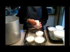 ▶ Formaggio Stracchino fatto in casa - YouTube