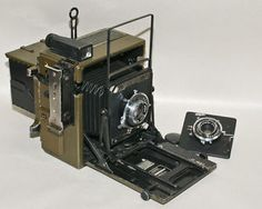 US Signal Corps Graflex Olive coloured