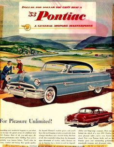sweet classic car ad Gone the way of the DoDo bird. http://classic-auto-trader.blogspot.com #classiccars