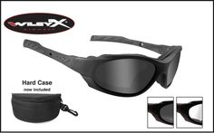 dda5b11fd7 Wiley X Goggles Sunglasses - XL-1 Advanced   Ranger Joes Static Shock
