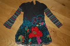 Robe à fleurs Catimini 2 ans