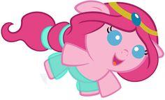 Baby Pinkie Pie Dressed as Princess Jasmine by Beavernator.deviantart.com on @deviantART