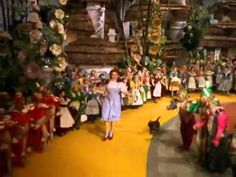 Follow the rainbow over the stream,  Follow the fellow who follows a dream,  Follow, follow, follow, follow,  Follow the yellow brick road.  We're Off To See The Wizard,  The wonderful Wizard of Oz.  We hear he is a Whiz of a Wiz if ever a Wiz there was.