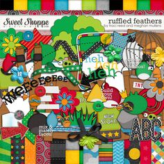 Angry Birds digital kit from Traci Reed Designs- love this!