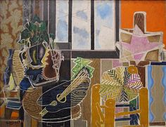 The Studio (Vase before a Window) by Georges Braque in the Metropolitan Museum of Art