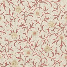 The Original Morris & Co - Arts and crafts, fabrics and wallpaper designs by William Morris & Company | Products | British/UK Fabrics and Wallpapers | Scroll (DM6P210364) | Archive Wallpapers