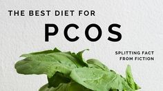 PCOS is one of the most common hormonal disorders in the developed world. This article explores the best diet for PCOS, as based on scientific evidence.