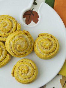 Pumpkin Cinnamon Rolls   http://weelicious.com/2012/11/19/quick-pumpkin-cinnamon-rolls/?utm_source=rss_medium=rss_campaign=quick-pumpkin-cinnamon-rolls_source=Join+Weelicious_campaign=e34983a60e-RSS-Daily-Email_medium=email#