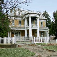 Original Townsite, Muskogee, Oklahoma, this old house best neighborhood 2012
