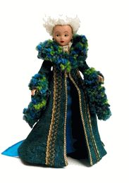 Madame Morrible Amelia Bloomer, Sleeping Beauty Doll, Wicked Musical, Wicked Costumes, Vintage Madame Alexander Dolls, John Wright, Bride Dolls, Dolls For Sale, Couture Collection