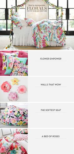 How to Incorporate Florals Into Your Decor