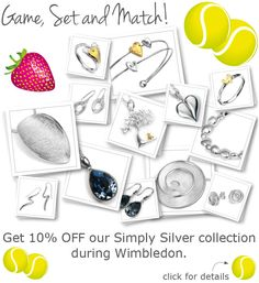 10% OFF for Wimbledon!